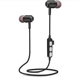 fone de ouvido sem fio bluetooth esporte fone metal MS-T14