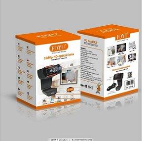 Webcam Decomposition - 1080p HD optical lens - Foyu