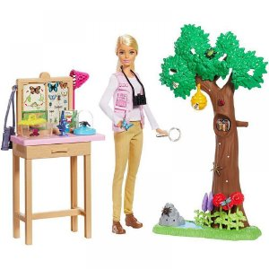 Barbie Nat Geo Cuidadora de Borboletas - Mattel