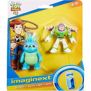 Figuras Toy Story 4 - Bunny e Buzz - Mattel -