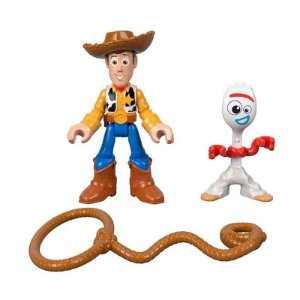 Figuras Toy Story 4 - Forky e Woody- Mattel -
