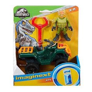Jurassic World Imaginext Quadriciclo Atv - Mattel