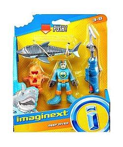 Patrulha do Tubarão imaginext - mattel