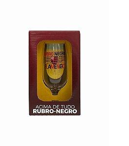 Taça Time Flamengo Rubro Negro 300ml - Allmix