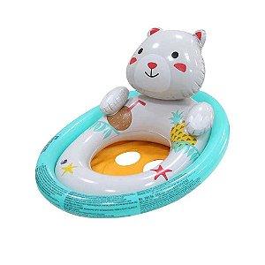 Boia para bebês de 1 a 3 anos Bestway com encaixe para as pernas em formato de Urso -Mor