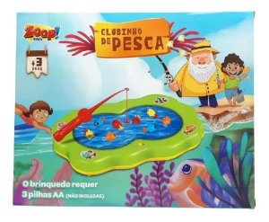 Pescaria Clubinho De Pesca Brinquedo Zoop Toys