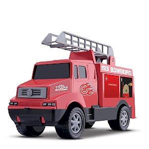 Carro Mini Trucks Bombeiro - Samba Toys