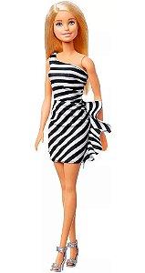 Boneca Barbie Loira Glitter - Mattel