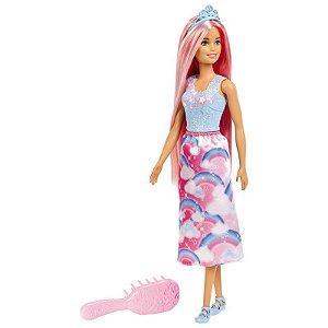 Boneca Barbie Dreamtopia Penteados Magicos - Mattel