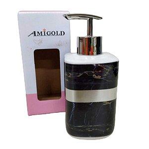 Porta Sabonete Liquido Porcelana - Amigold