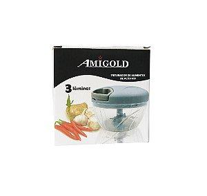 Triturador de Alimentos Azul - Amigold