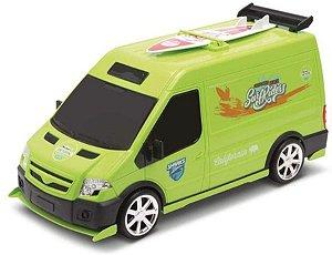 Carro Van do Surf Verde - Omg