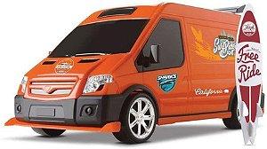 Carro Van do Surf Laranja - Omg
