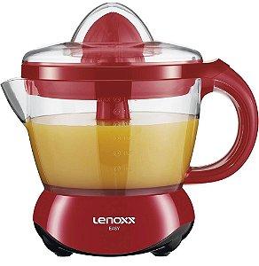 Espremedor de Frutas Lenoxx Easy 1,2L 30W 127V - Vermelho