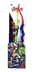Arco Lança Foguete Vingadores - Toyng