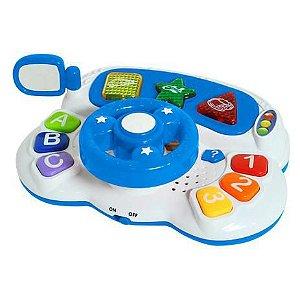 Volante Infantil Bibi Baby Guta Guit Educativo Com Sons Luzes e Musica - Dm Toys