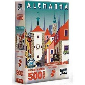 Quebra Cabeça Postais da Europa Alemanha 500 peças - Toyster