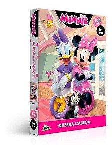 Jogo Quebra Cabeça Minnie /100PCS - Toyster