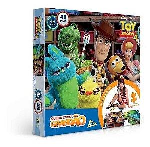 Jogo Quebra Cabeça Toy Story 4 /48PCS Toyster