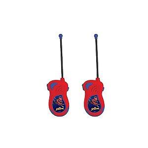 Brinquedo Radio Walkie Talkie Infantil Homem Aranha  - Candide