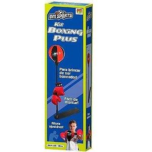 Kit Boxing Plus Sports - Dm Toys