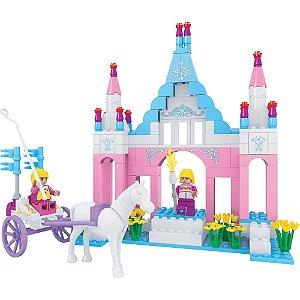 Brinquedo Castelo da Princesa Com 245 peças - Vip Toys