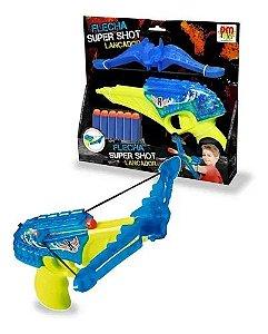 Lançador Super Shot Flecha C/Luz.Som - DM Toys