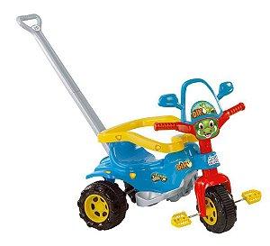 Triciclo Tico- Tico Dino Azul Velotrol Infantil - Magic toys