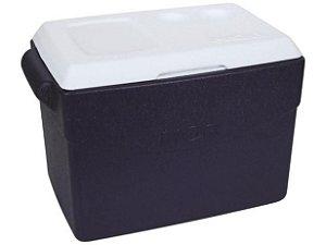 Caixa Térmica 26 Litros Glacial Azul - Mor