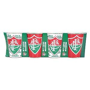Conjunto de Copos Fluminense Plástico 450 ml - ALLMIX