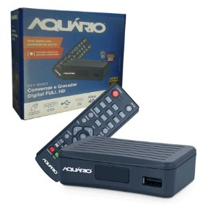 Conversor Digital Full HD Compacto - Aquario
