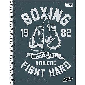 Caderno Universitário Capa Dura 10x1 200 Folhas Boxing D+ Masculino - Tilibra