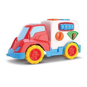 Caminhão Didático Turma Da Mônica - Samba Toys