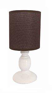 Abajur Bivolt Para Lampada De 40W (Lampada Nao Inclusa)