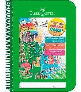 Caderno Criativo Verde UNIV.1X1 96FLS - Faber Castell