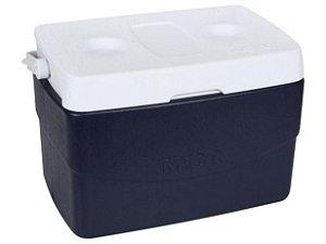 Caixa Térmica Mor 20L - Glacial Azul