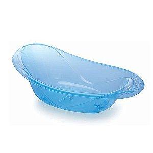 Banheira Translúcida Azul 20l Adoleta Cajovil