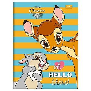 Caderno Brochura Pequeno 96 Folhas Hello Foroni