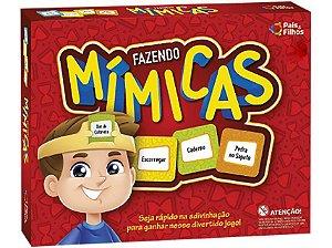 Jogo Fazendo Mímicas - Pais e Filhos