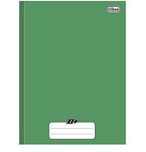 Caderno Brochura Univ. Capa Dura 96 Fls D+ Verde Tilibra
