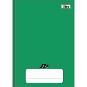 Caderno brochura CD 96 Folhas Verde - Tilibra