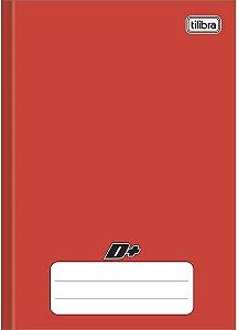 Caderno brochura CD 96 Folhas Vermelho - Tilibra