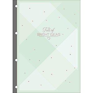 Refil Tiliflex Para Caderno Argolado Universitário Soho 80 Folhas - Tilibra