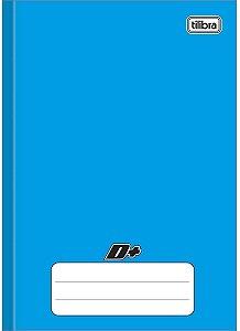 Caderno Brochura Univ. Capa Dura 96 Fls D+ Azul Tilibra