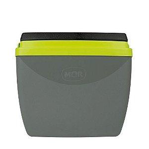 Caixa Térmica 18L Cinza/Verde Mor