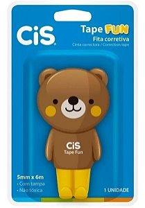 Corretivo Fita Tape Fun Ursinho Marrom - CIS