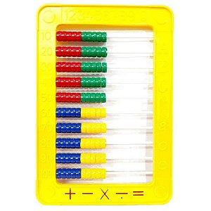 Abaco Amarelo 12,9cm X 17,8cm 0057 Pais E Filhos
