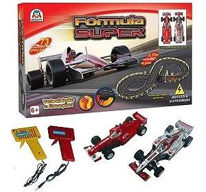 Fórmula Super Autorama Elétrico - Braskit