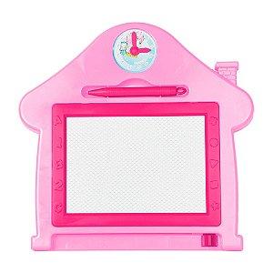 Quadro Mágico Casa Rosa - Dm Toys