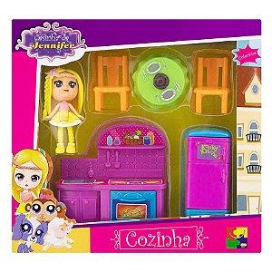 Casinha da Jennifer Cozinha CKS Toys